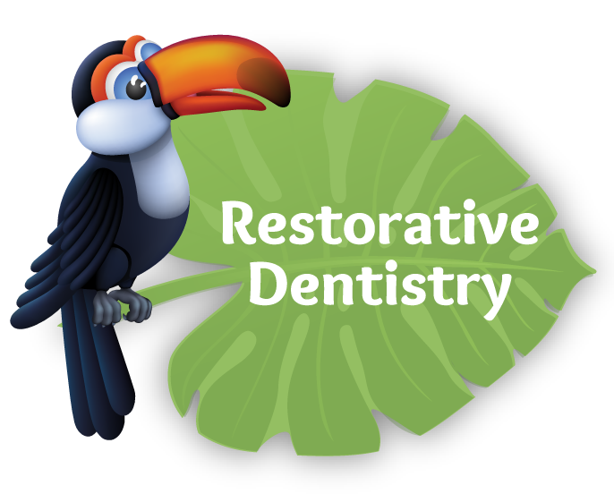 To learn more about Restorative Dentistry for kids click here