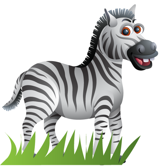image of Zebra at double resolution